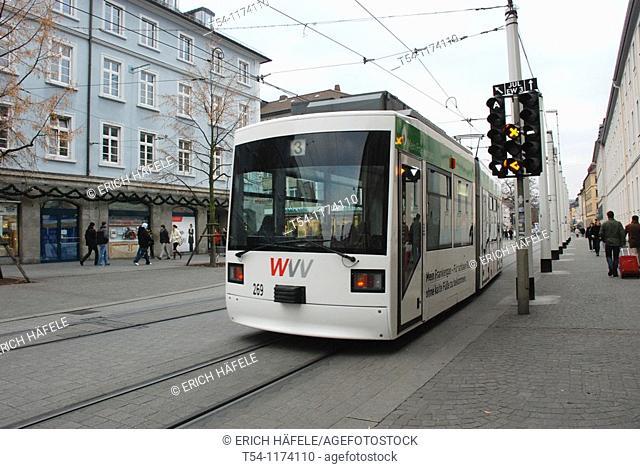 Tram in Wurzburg
