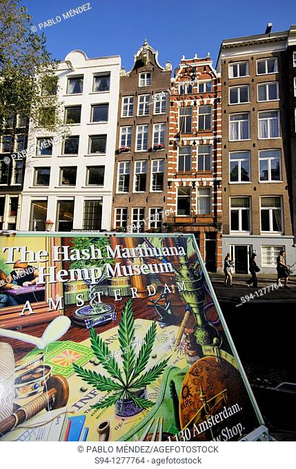Poster in Waterloo area, Amsterdam, Northern Holland, Holland