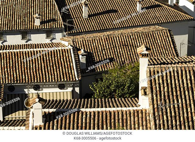 village of Grazalema, Cadiz province, Andalucia, Spain