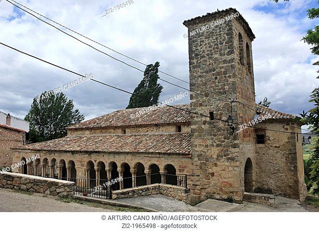 Romanesque Church of the Salvador. Carabias, Guadalajara, Spain