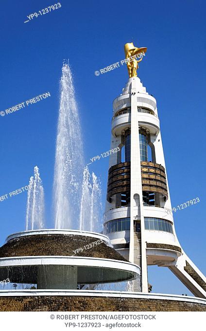 Turkmenistan - Ashgabat - the Arch of Neutrality