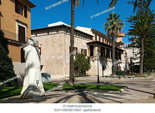 Consulate Of Sea, Paseo Sagrera,Palma, Island Of Majorca, Balearic, Spain