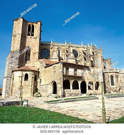 Santa Maria de la Asuncion, Castro Urdiales, Cantabria, Spain