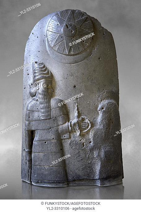 Basalt Babylonian sculpture reporting the spoils of war, 12th cent. BC. The Louvre Museum, Paris