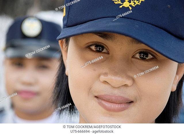 security guards, Mataram, Lombok, Indonesia