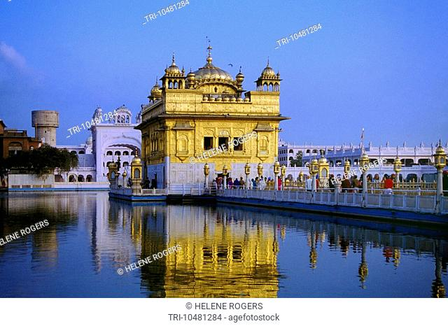 Amritsar India Sri Harmandir Sahib golden Temple