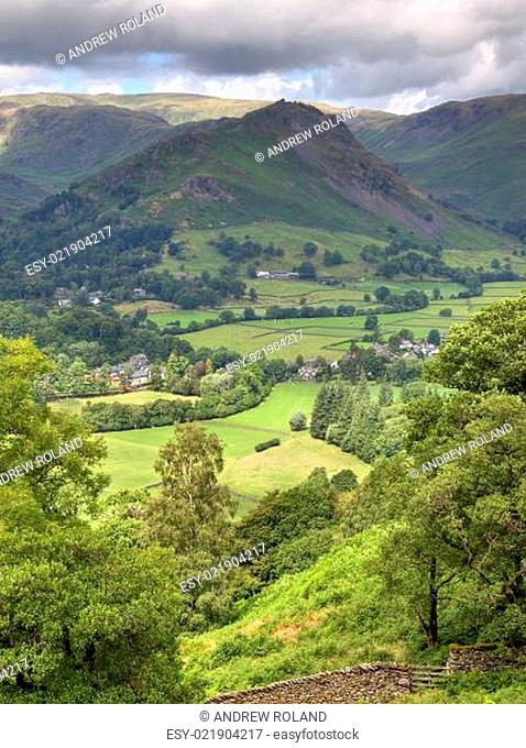 Aerial view of Grasmere
