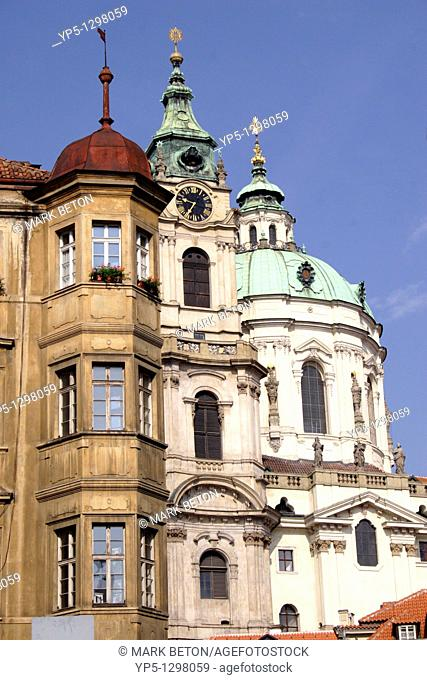 Little Quarter and Church of St Nicholas Prague