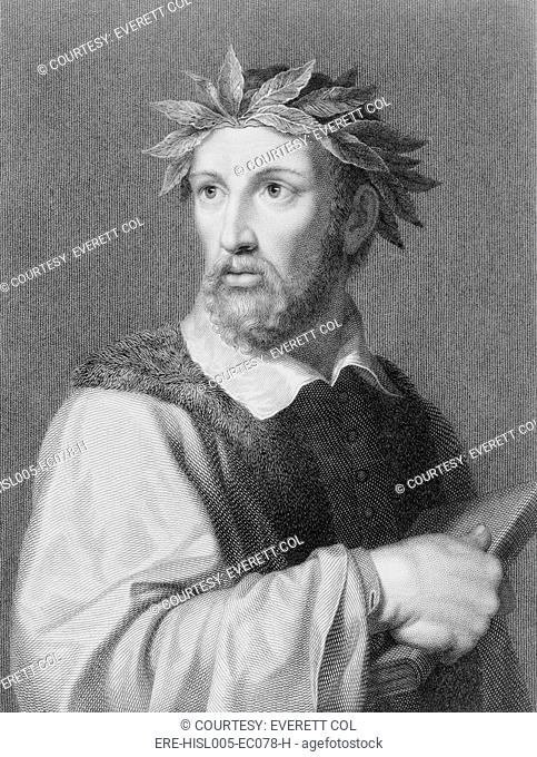 Torquato Tasso 1544-1595 Italian poet wrote the epic GERUSALEMME LIBERATA Jerusalem Liberated, 1581, about the First Crusade and the European conquest of...