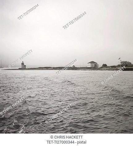 USA, Massachusetts, Nantucket Island, Brant Point Lighthouse
