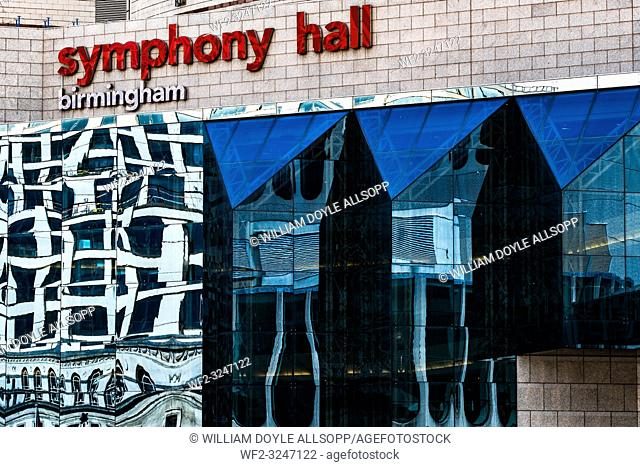Symphony Hall in Birmingham is part of The International Convention Centre