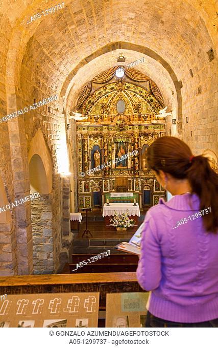 Church of the Nativity  Romanesque church  Durro  Boi - Taull Valley  Alta Ribagorça Region Lerida province  Lleida province Cataluña  Catalunya  Catalonia...