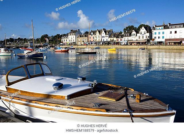 France, Morbihan, La Trinité sur Mer, Harbour