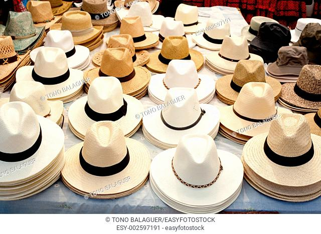 beige and white straw hats in a row male fashion accesories