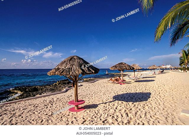 mexico, cozumel island, the beach