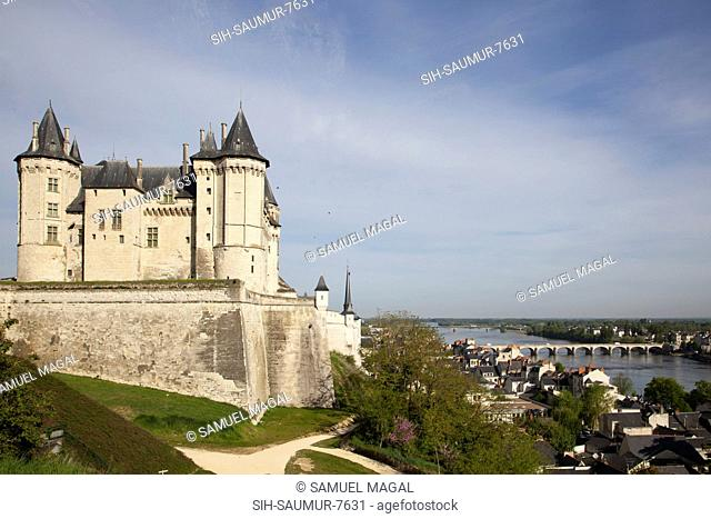 The Saumur castle was constructed by Henry II, King of England, towards the end of the 12th century. It stands in the same location as a chateau constructed in...