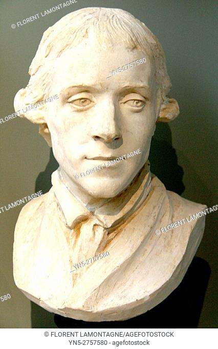 Portrait of FALCONET Pierre Etienne (1741-1791) by Marie-Anne COLLOT (1748- 1821)