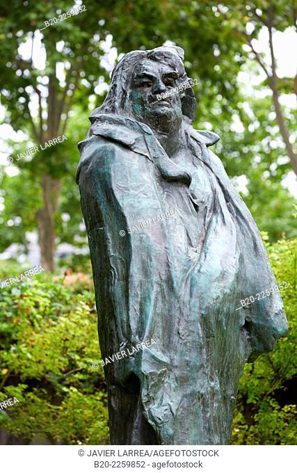 Balzac, sculpture by Auguste Rodin. Rodin Museum. Paris. France
