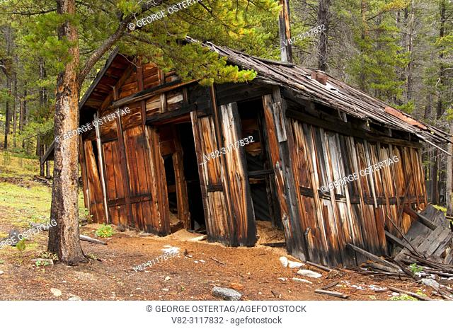 Coolidge Ghost Town, Beaverhead-Deerlodge National Forest, Montana
