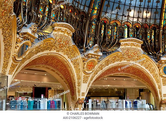 France, Galeries Lafayettes; Paris