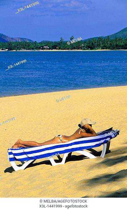 Mac Nam Beach  Ko Samui  Shurat Thani  Thailand