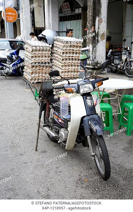Delivery Service, Eggs, George Town, Penang, Malaysia