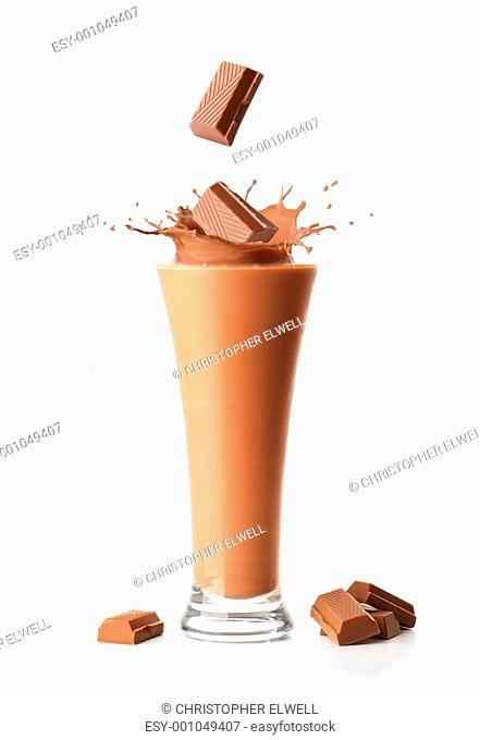 Chocolate Milkshake Smoothie