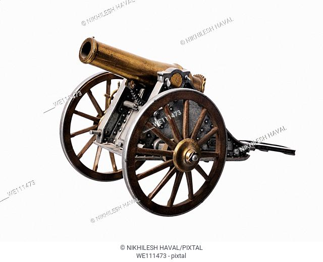 Brass cannon