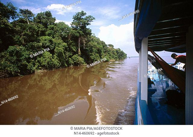 Rio Negro, Amazon. Brazil, 2005