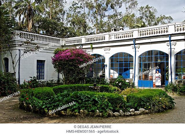 Ecuador, Imbabura Province, Iluman, Hacienda Pinsaqui, built in 1790, this former textile factory was also a vacation place for Simon Bolivar in Ecuador