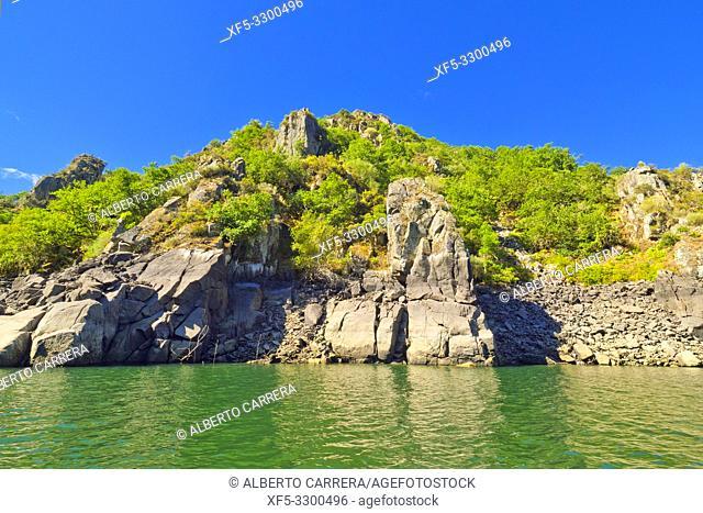Sil River Canyon, Ribera Sacra, Orense, Galicia, Spain, Europe