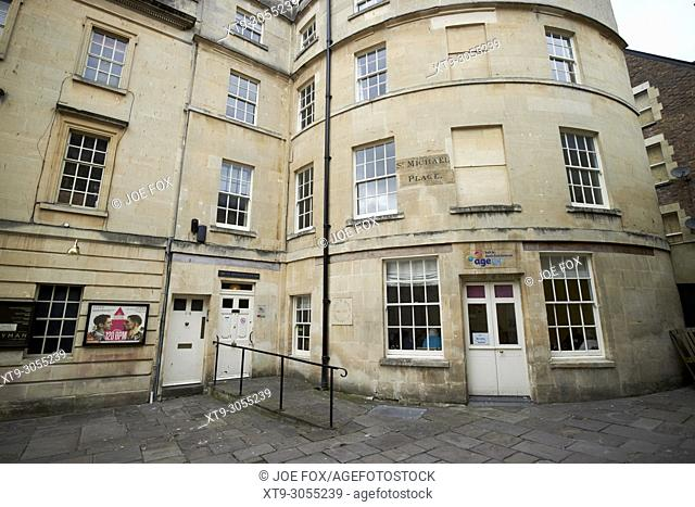 The Age UK st michaels centre in st michael place Bath England UK