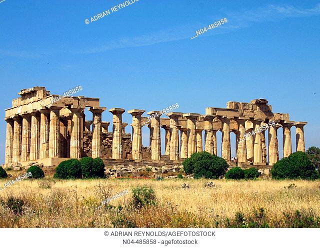 Selinunte temple, Sicily, Italy