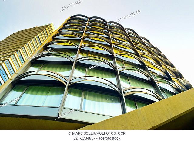 Winterthur office building. Barcelona, Catalonia, Spain