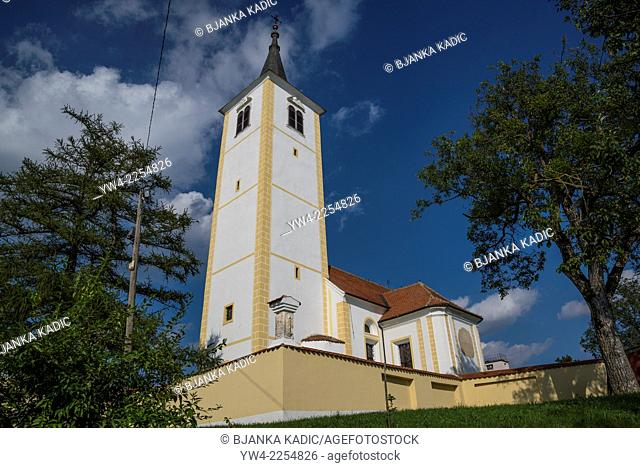 Church of St Mary of the Snow in Belec, Zagorje, Croatia