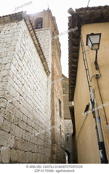 St Peters church Tordesillas monumental town in Castile Leon Spain