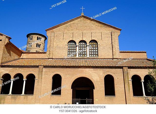 Basilica of Sant'Apollinare in Classe, Ravenna, Italy, Europe