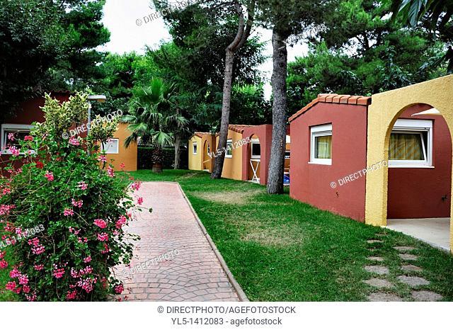 Canet-en-Roussillon, France, Camping in France, Le Brasilia, 4 Stars, Bungalow near Beach, Brasilia Village