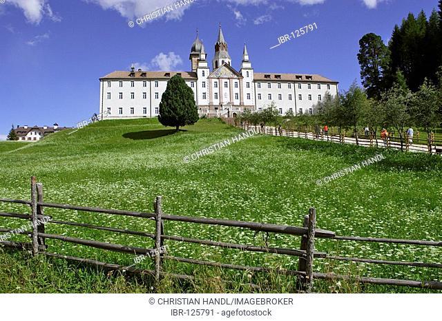 Monastery of Maria Weißenstein, Petersberg, South Tyrol Italy