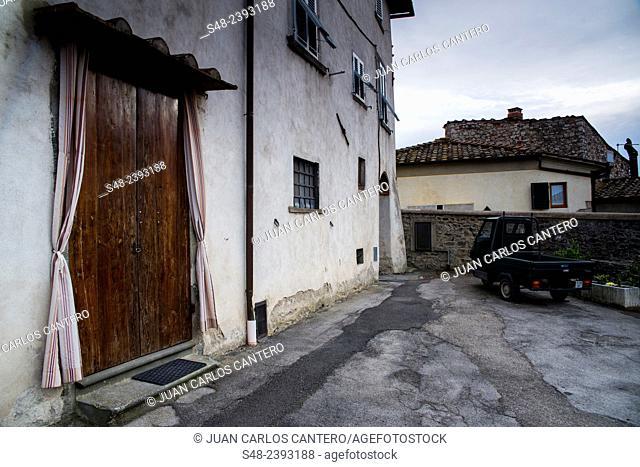Castellina in Chianti. Tuscany. Italy