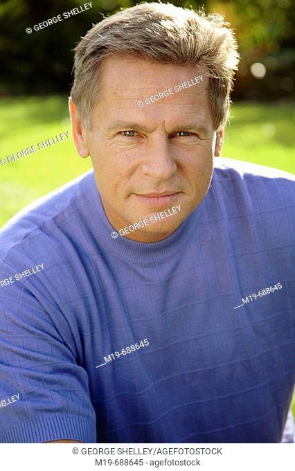 Portrait of a confident man