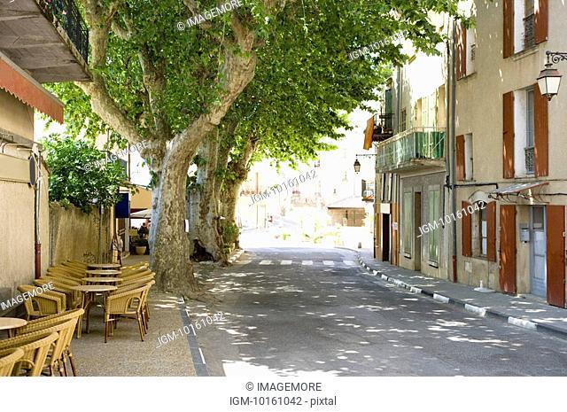 City View in Plateau De Valensole, Provence-Alpes-Cote d'Azur, France