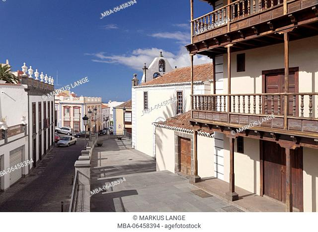 Church Iglesia de Bonanza, El Paso, La Palma, Canary islands, Spain