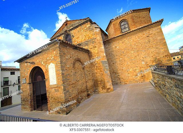 Church of San Miguel, 12-15th Century Romanesque-Gothic Style, Ã. greda, Soria, Castilla y León, Spain, Europe