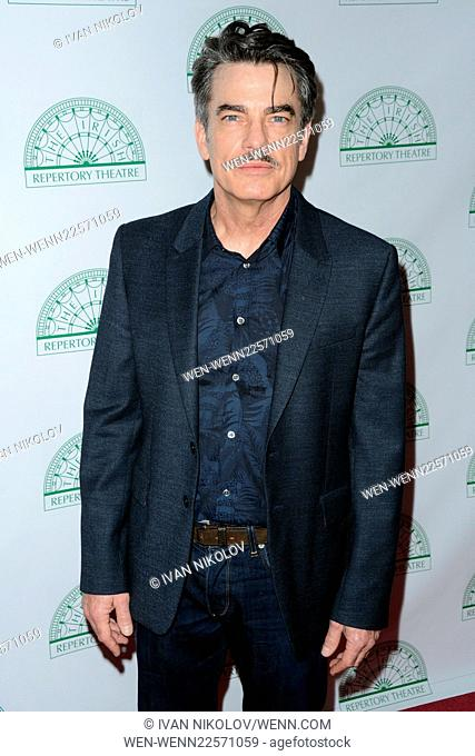 Irish Repertory Theatre's YEATS: The Celebration Featuring: Peter Gallagher Where: New York City, New York, United States When: 08 Jun 2015 Credit: Ivan...
