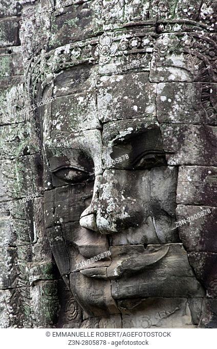 Le Bayon temple, ANgkor, Cambodia, South East Asia