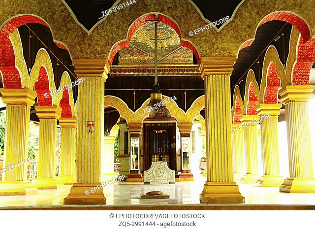 Interior of Datta Mandir, Marne village, near Lavasa, Pune