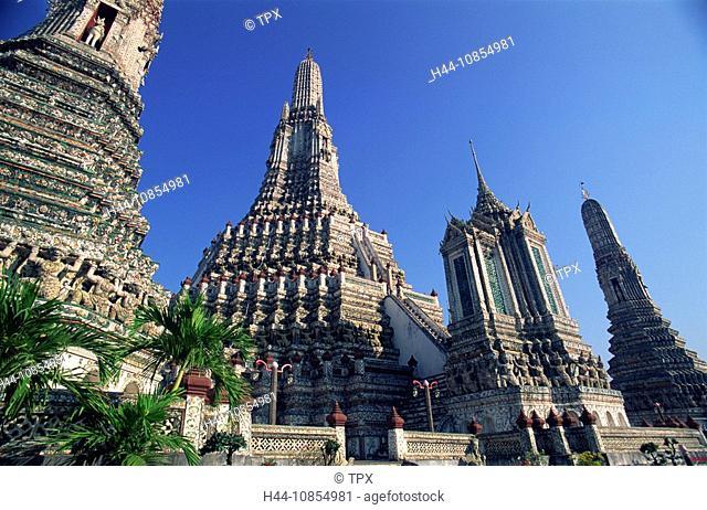 10854981, Asia, Thailand, Bangkok, Wat Arun, Templ