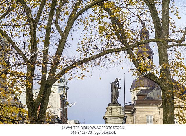 Canada, Quebec, Quebec City, Upper Town, autumn
