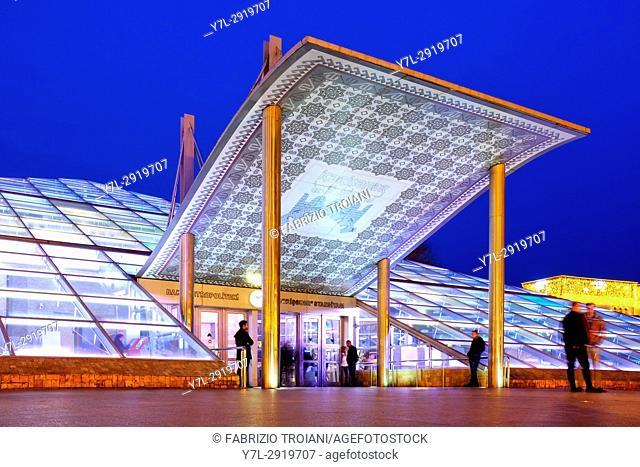 Icheri Sheher metro station, Baku Azerbaijan
